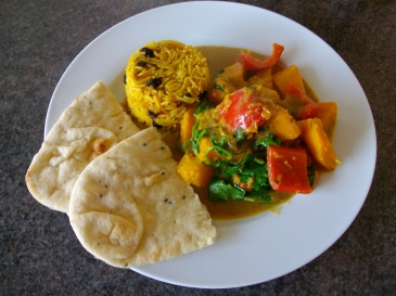 Squash and Pepper Curry